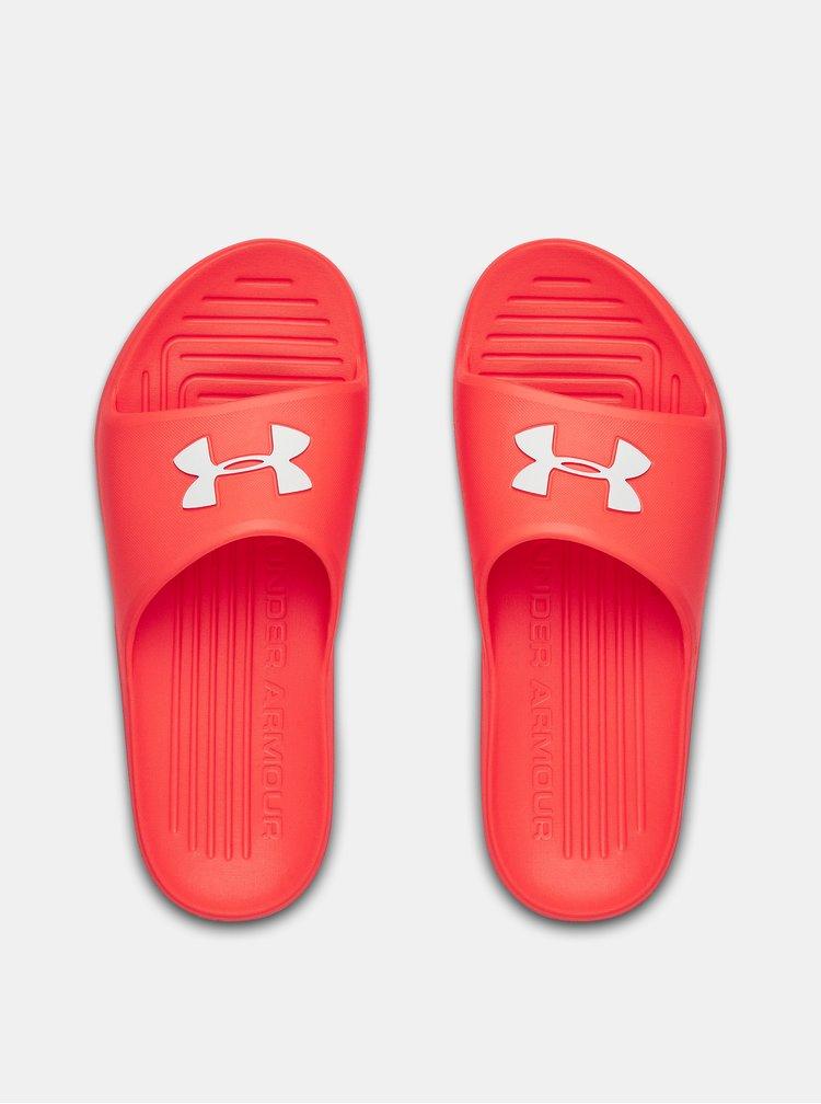 Červené pánské pantofle Core Under Armour