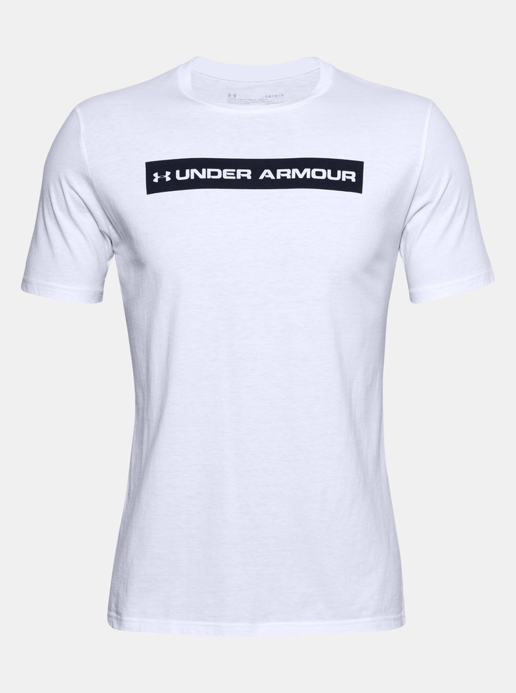 Bílé pánské tričko Bar Under Armour