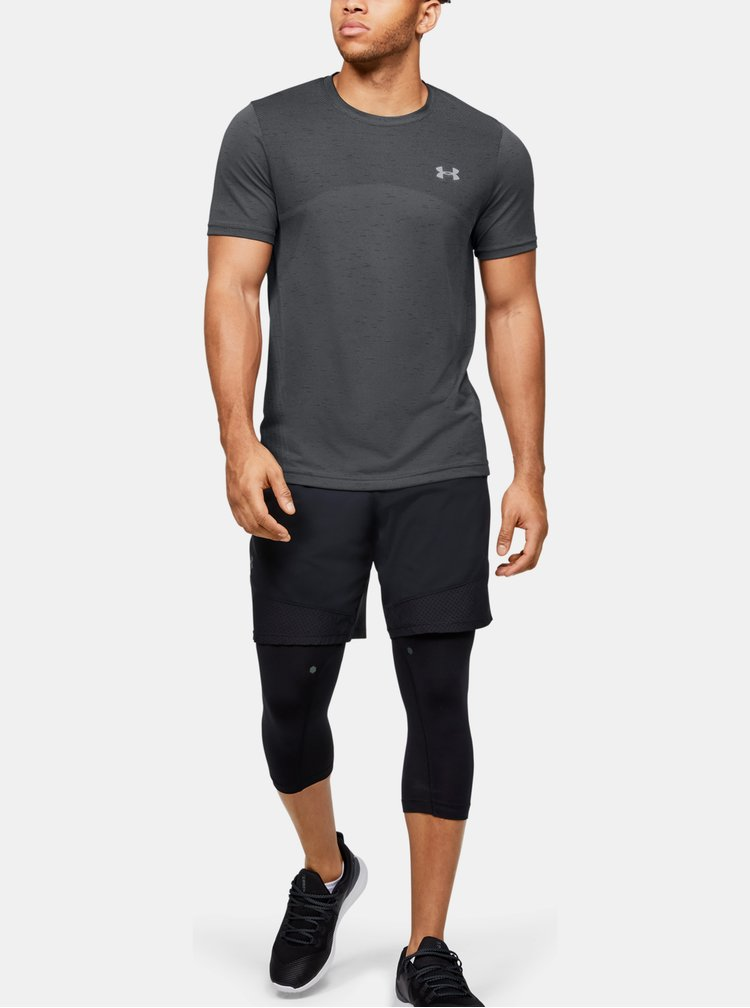 Tmavě šedé pánské tričko Seamless Under Armour