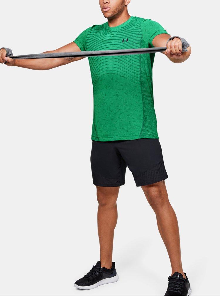Zelené pánské tričko Seamless Wave Under Armour