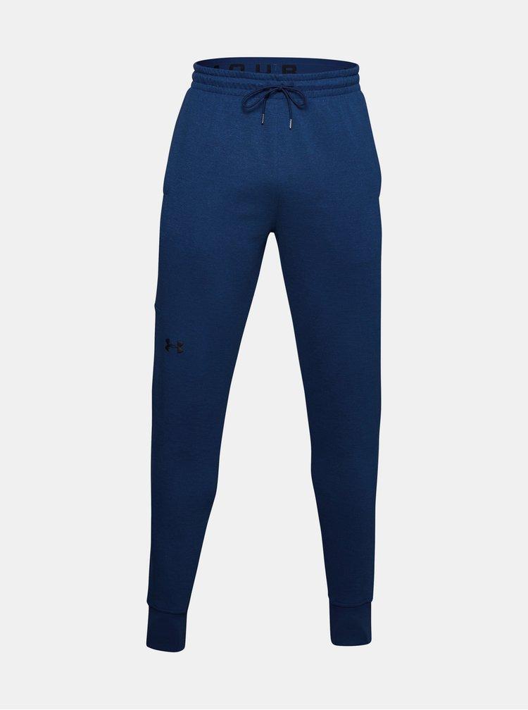 Modré pánské tepláky Double Knit Under Armour