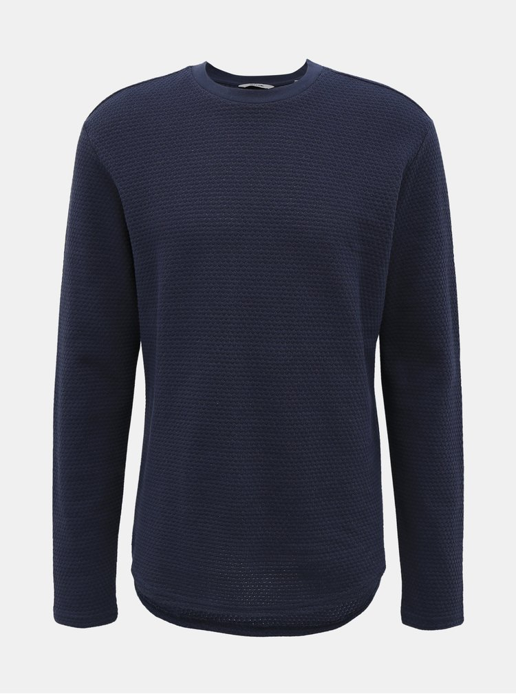 Tmavě modrý svetr ONLY & SONS Leech