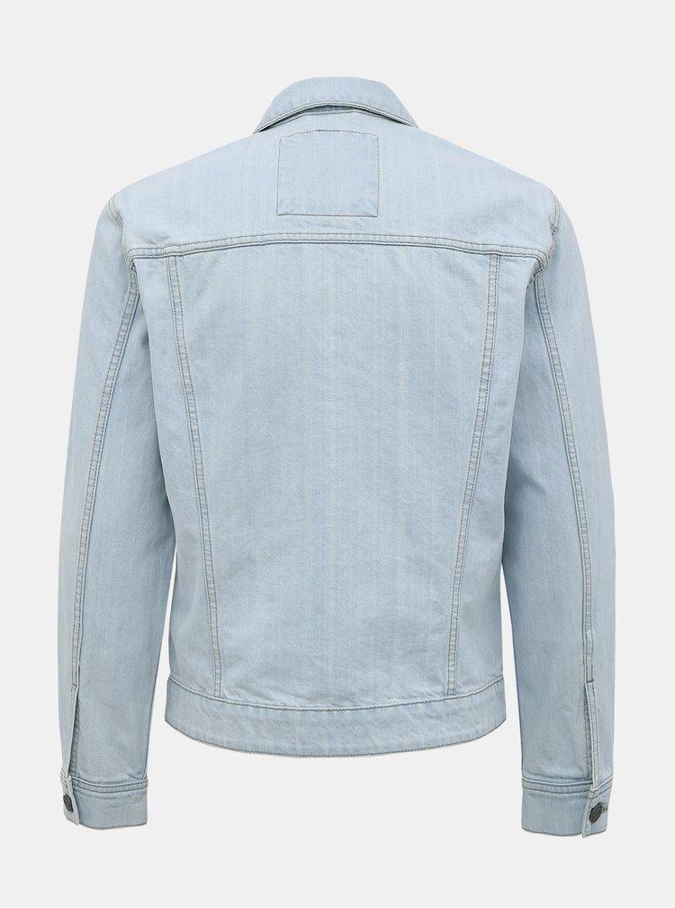 Světle modrá džínová bunda ONLY & SONS Coin