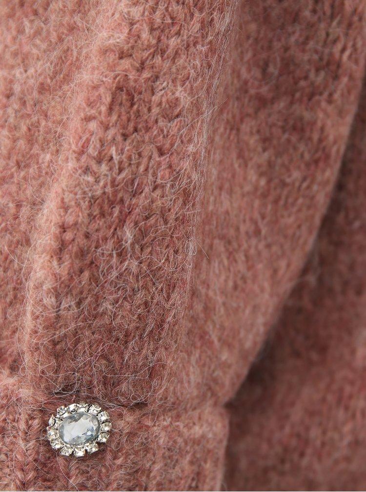 Starorůžový svetr VERO MODA Diana