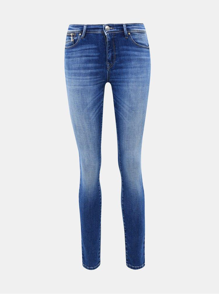 Modré skinny fit džíny ONLY Shape