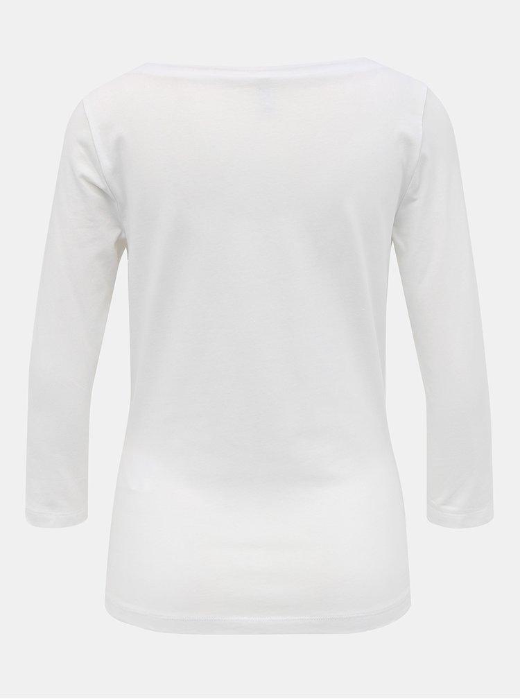 Bílé basic tričko ONLY Fifi