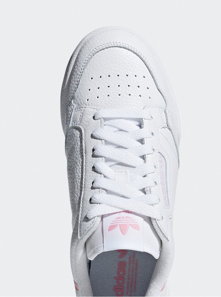 Bílé dámské kožené tenisky adidas Originals