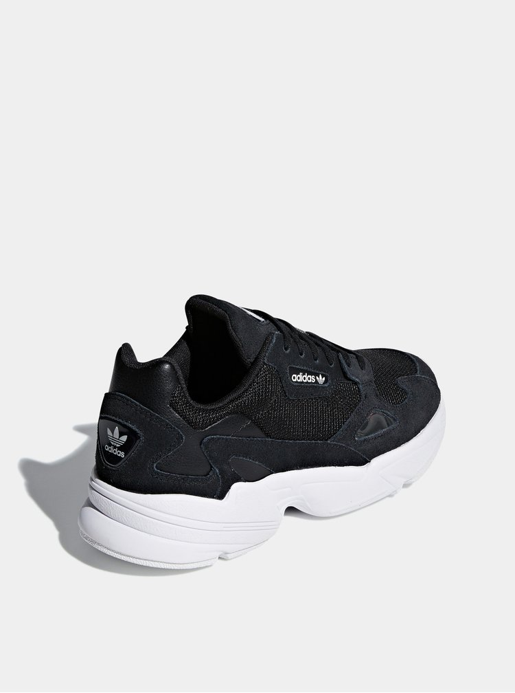 Černé dámské tenisky se semišovými detaily adidas Originals