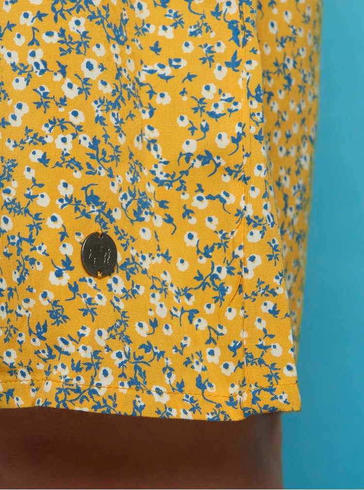 Žluté květované šaty Tranquillo Madiba