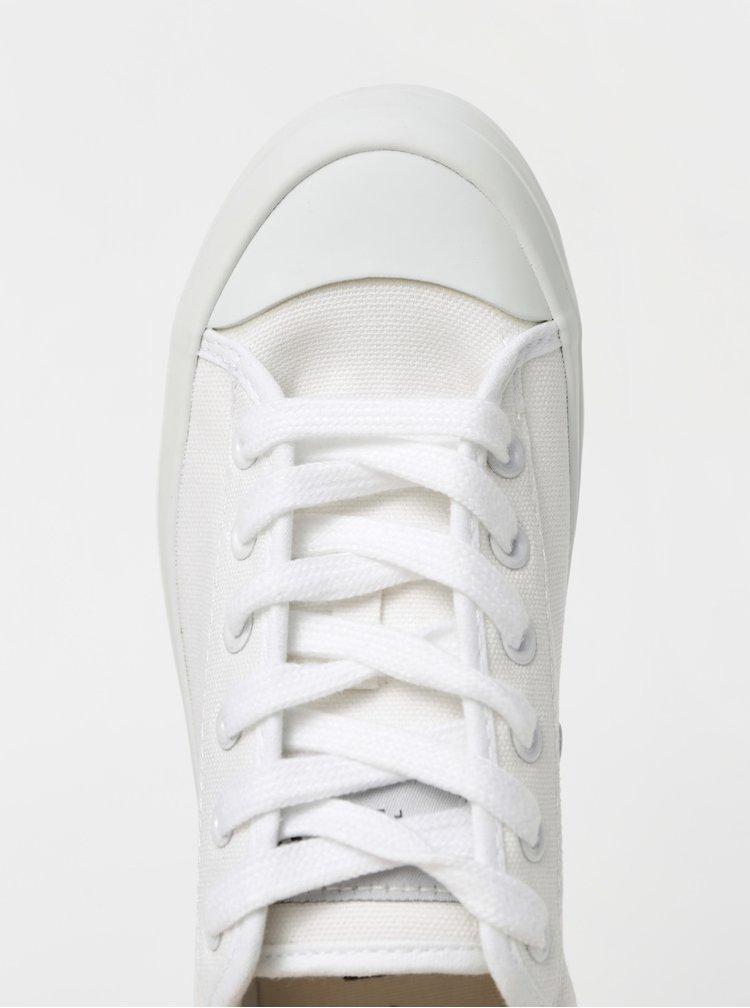 Bílé tenisky na platformě Selected Femme Simone