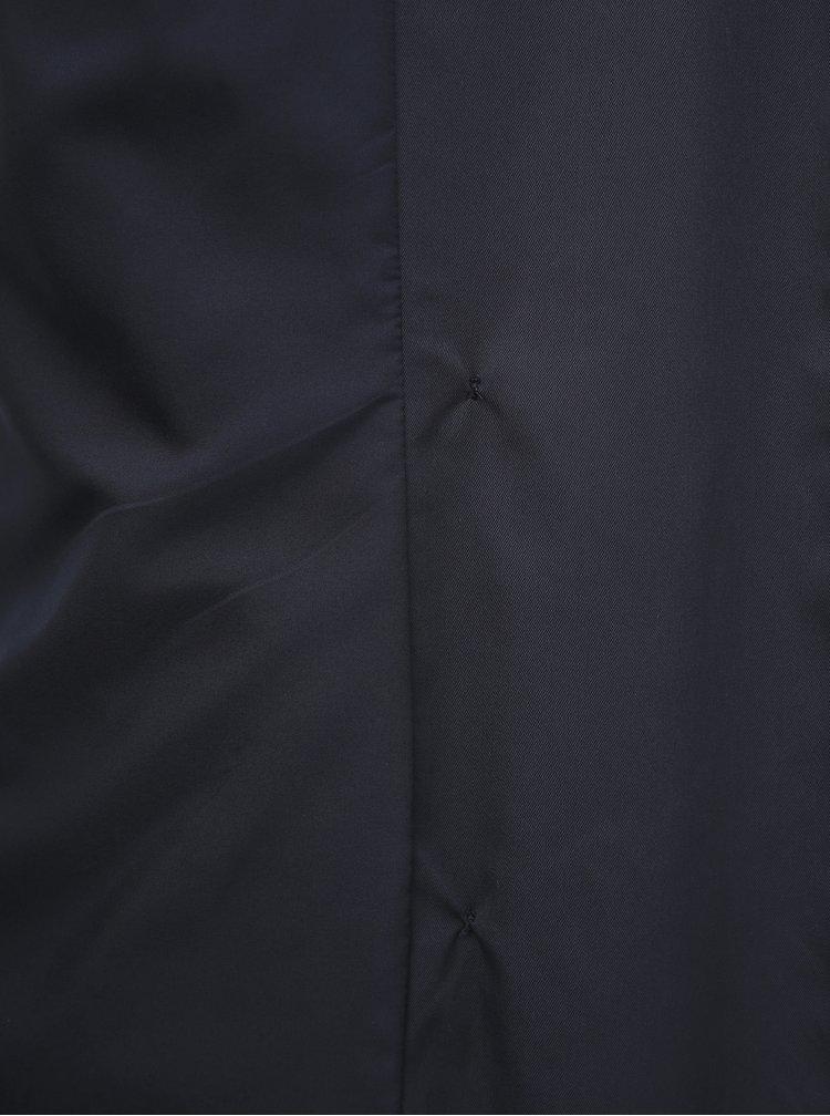 Tmavě modrý trenčkot ONLY CARMAKOMA Valerie