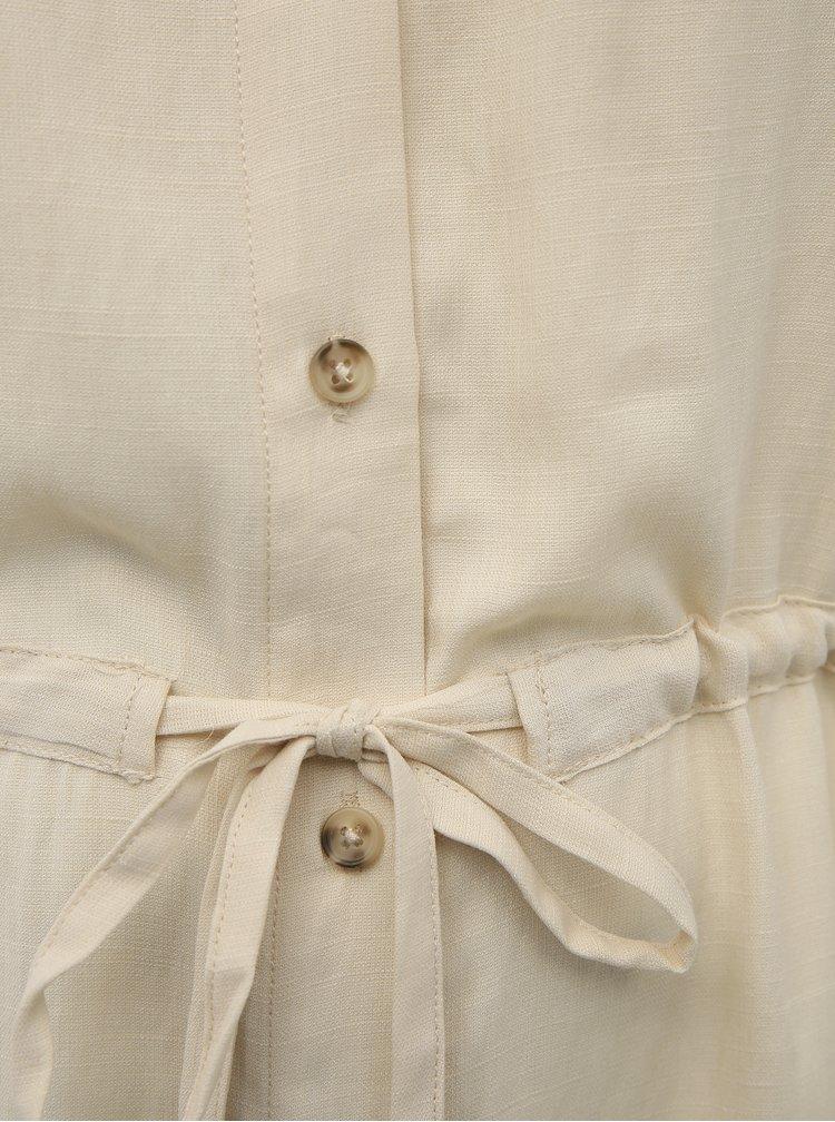 Krémová košile ONLY CARMAKOMA Sybilla