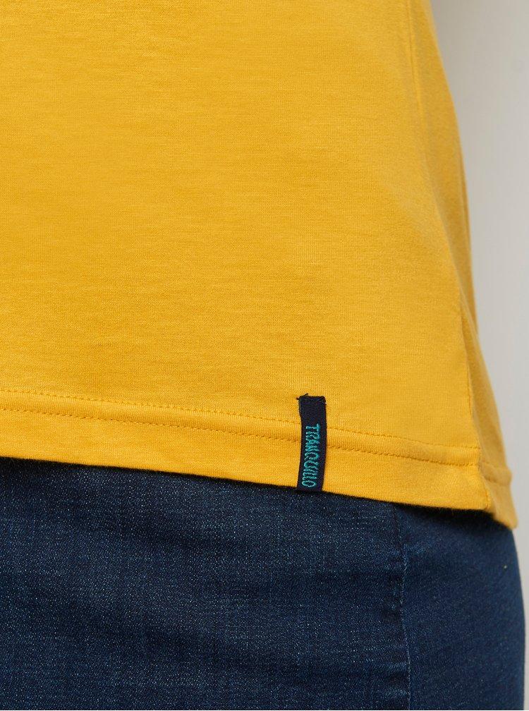 Tricouri pentru femei Tranquillo - mustar