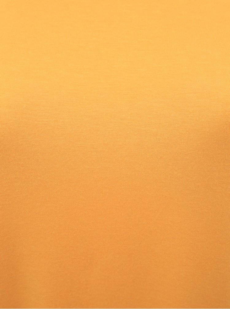 Žluté basic tričko ONLY CARMAKOMA Carmakoma