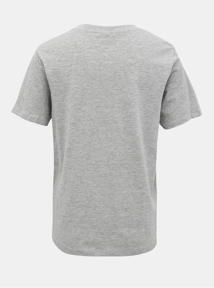 Šedé tričko Jacqueline de Yong Best Treats