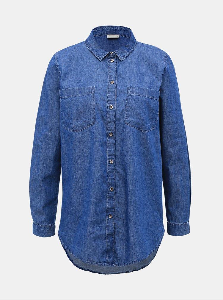 Modrá džínová košile Jacqueline de Yong Roger