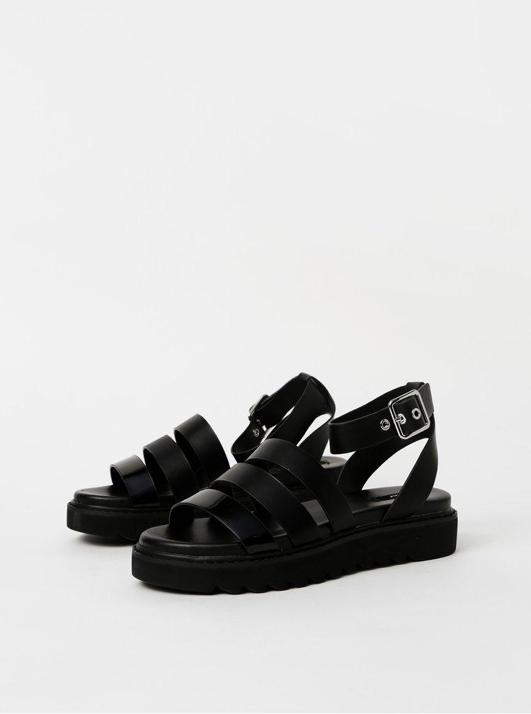 Černé sandály ONLY Malu