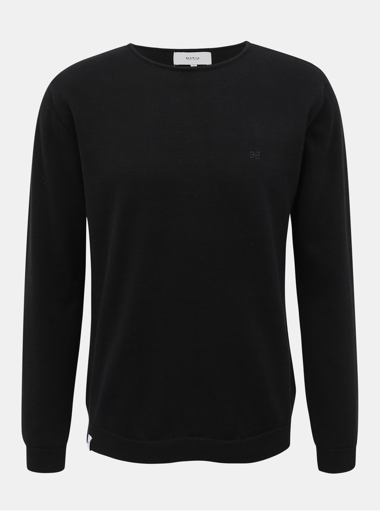 Černý pánský svetr Makia Lyon