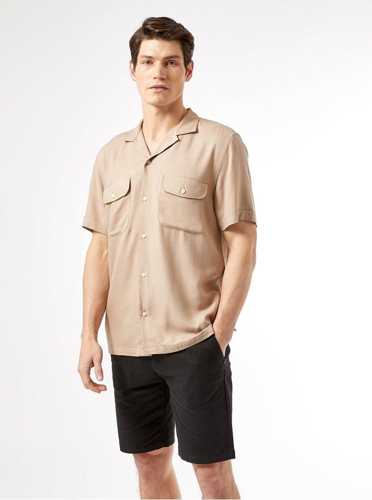 Tricouri cu maneca scurta pentru barbati Burton Menswear London - bej