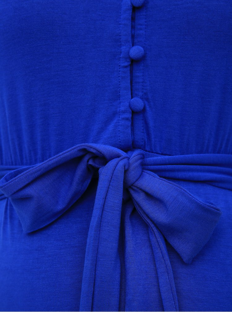 Modré těhotenské/kojicí šaty Mama.licious Adrianna