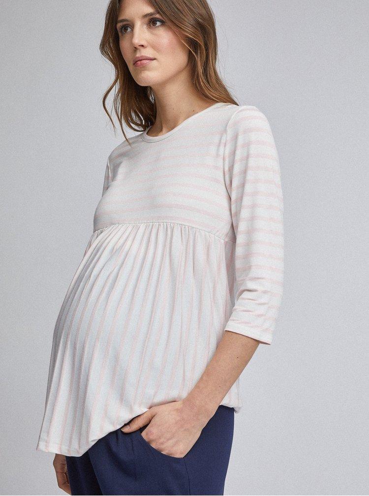 Modré těhotenské basic tepláky Dorothy Perkins Maternity