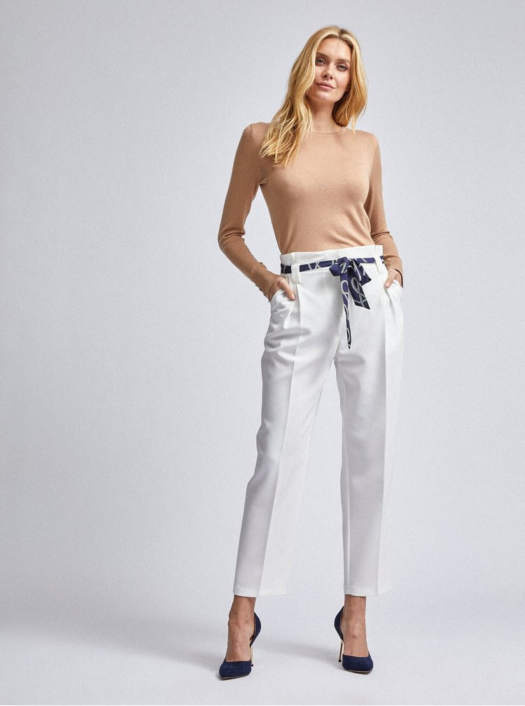 Bílé kalhoty Dorothy Perkins
