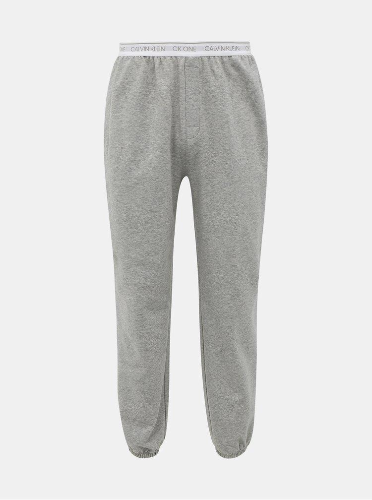 Šedé pánské tepláky Calvin Klein Underwear