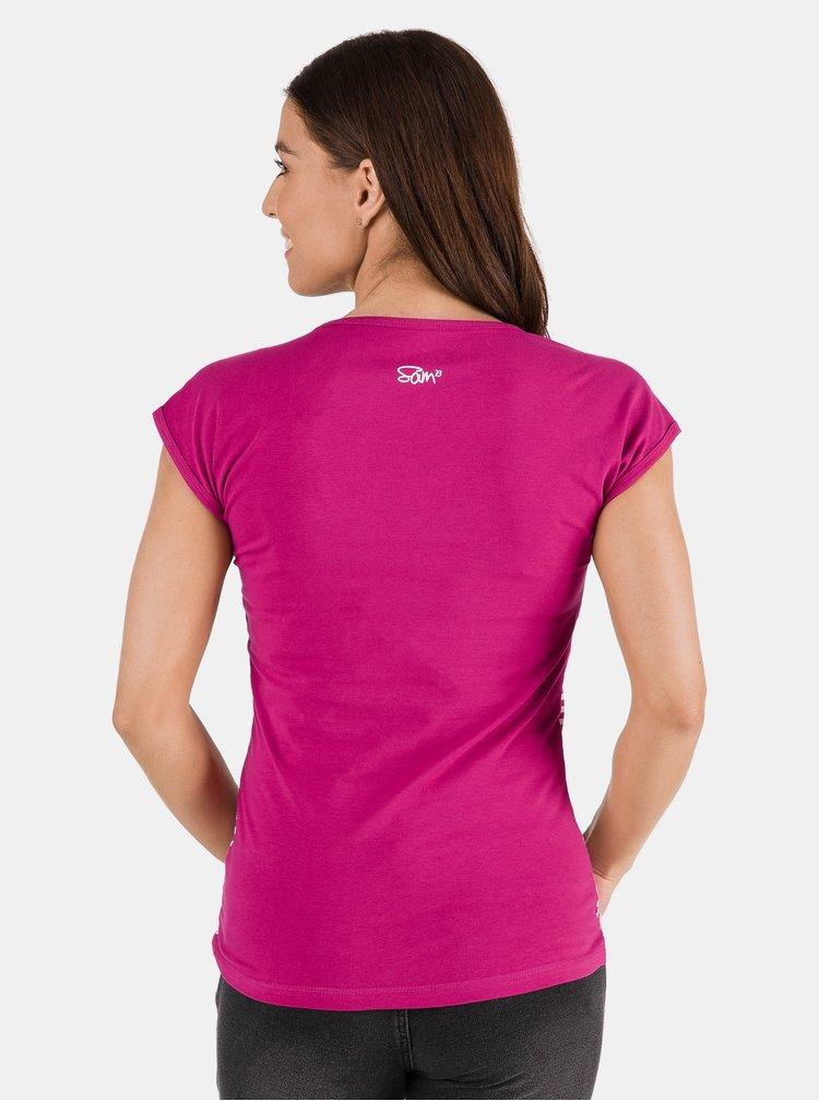 Topuri si tricouri pentru femei SAM 73 - roz inchis