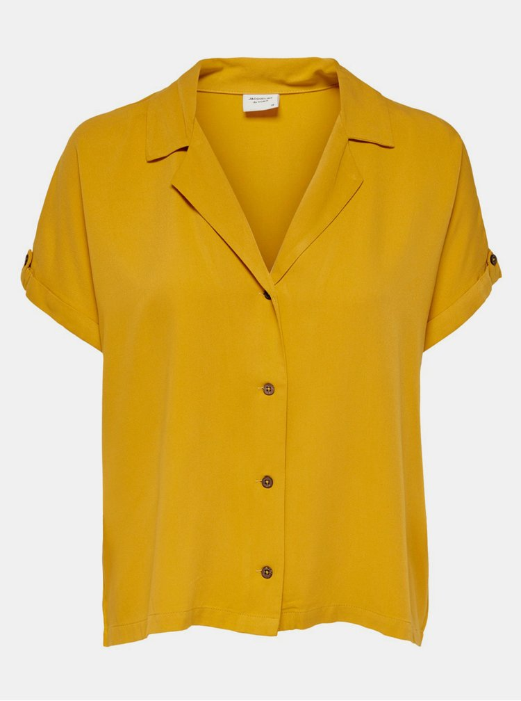 Žlutá halenka Jacqueline de Yong Skylar