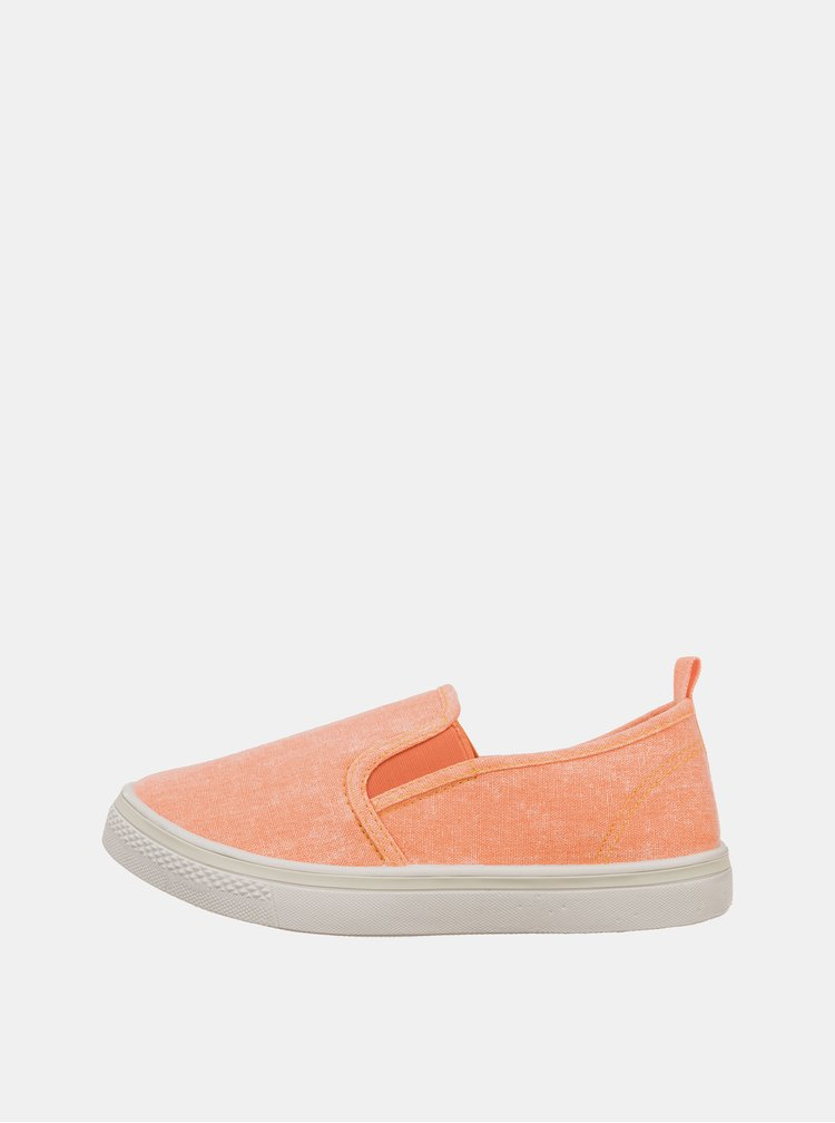 Oranžové holčičí slip on SAM 73 Kruzo