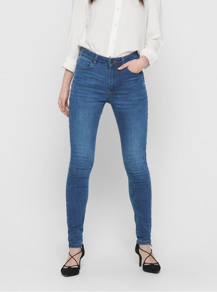 Modré skinny fit džíny Jacqueline de Yong Polli