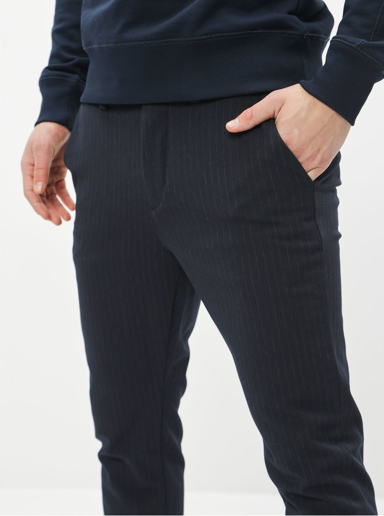 Pantaloni formali pentru barbati Jack & Jones - albastru inchis