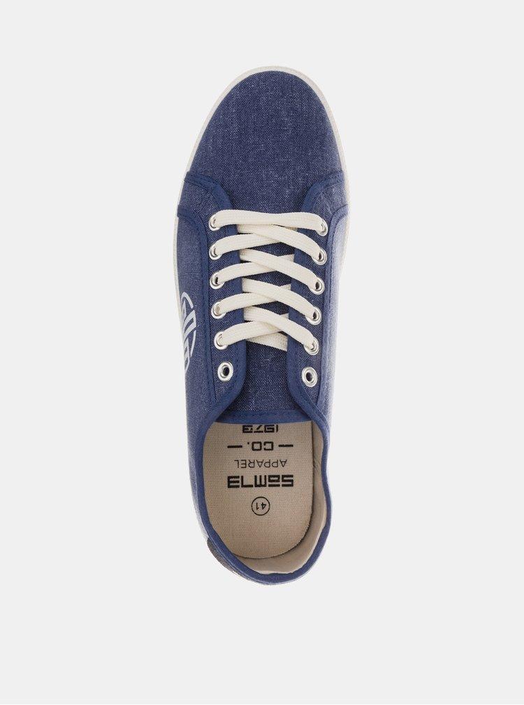 Tmavě modré pánské tenisky SAM 73 Dant