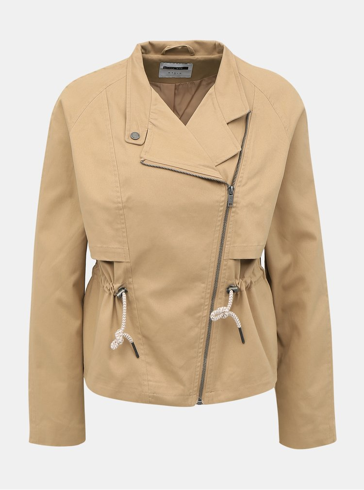 Jachete subtire pentru femei Noisy May - bej
