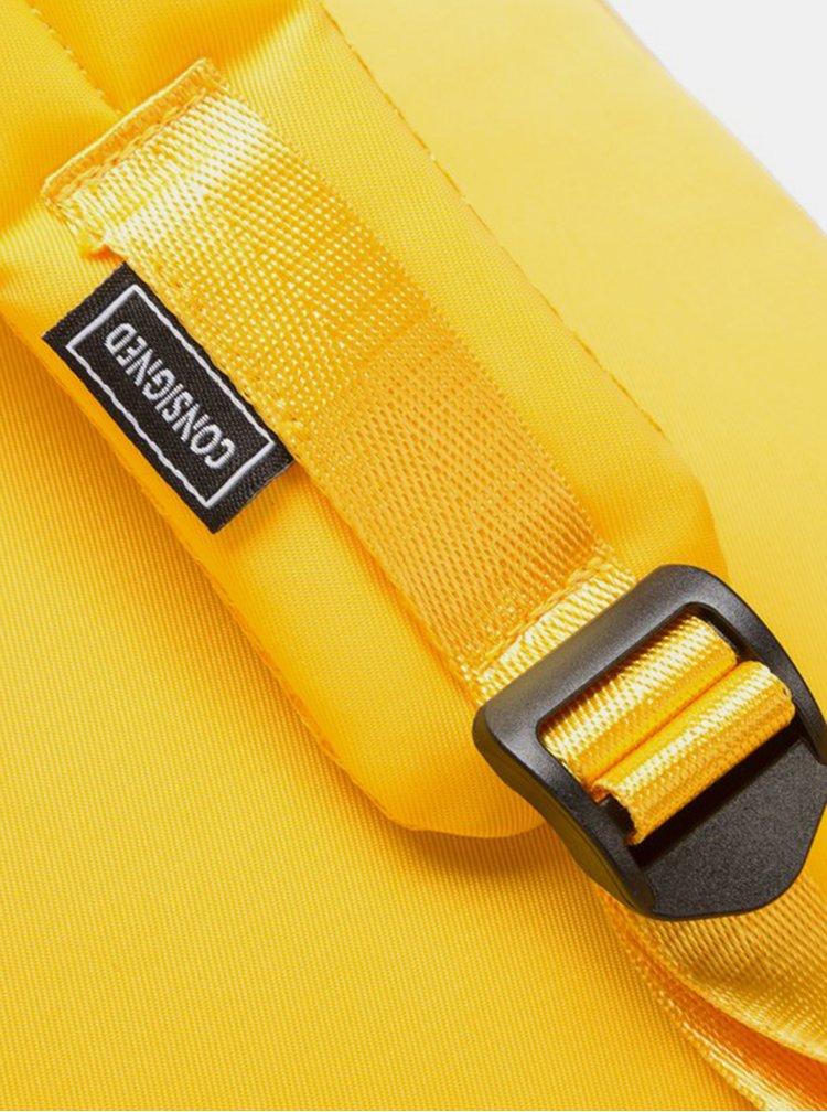 Žlutý batoh Consigned Finlay Clip