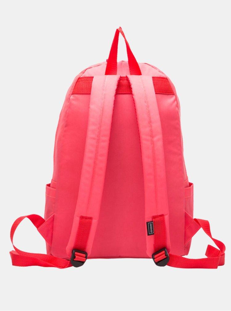 Růžový batoh Consigned Finlay Clip