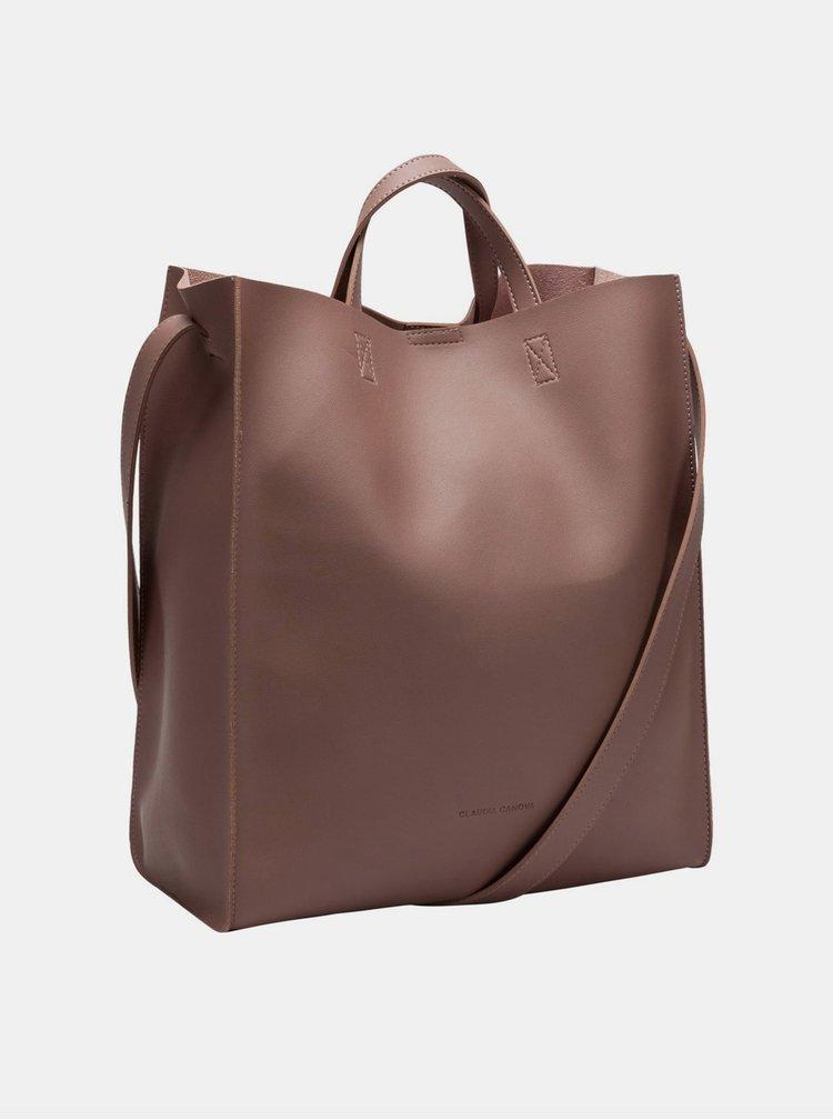 Starorůžová kabelka s odnímatelným pouzdrem Claudia Canova Retta