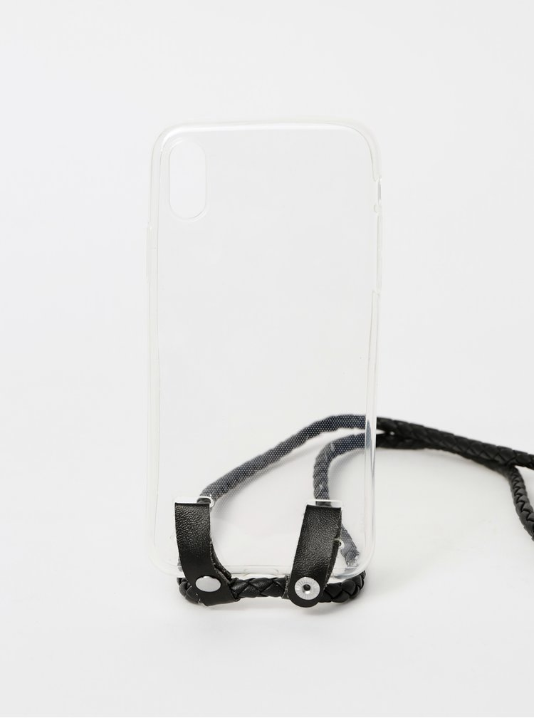Transparentní obal na Iphone X Haily´s Carry