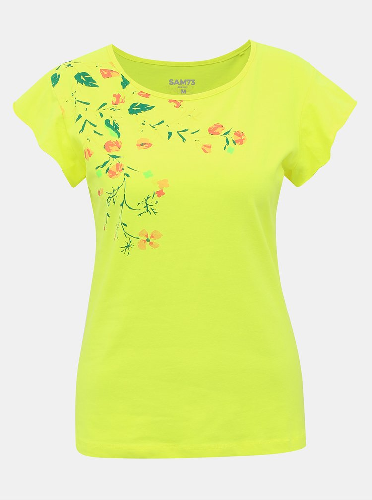 Topuri si tricouri pentru femei SAM 73 - galben