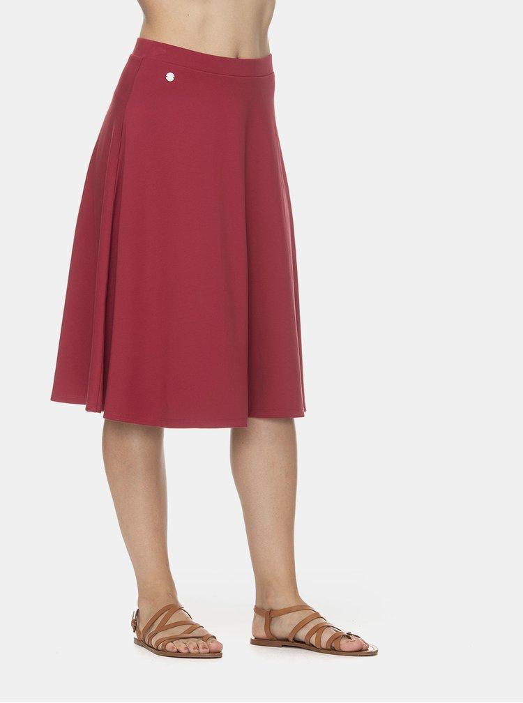 Červená sukně Ragwear Gorra