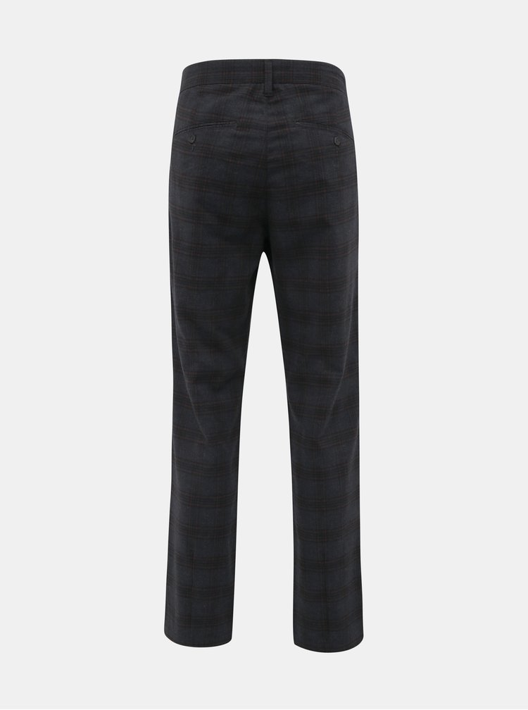 Pantaloni casual pentru barbati ONLY & SONS - gri inchis