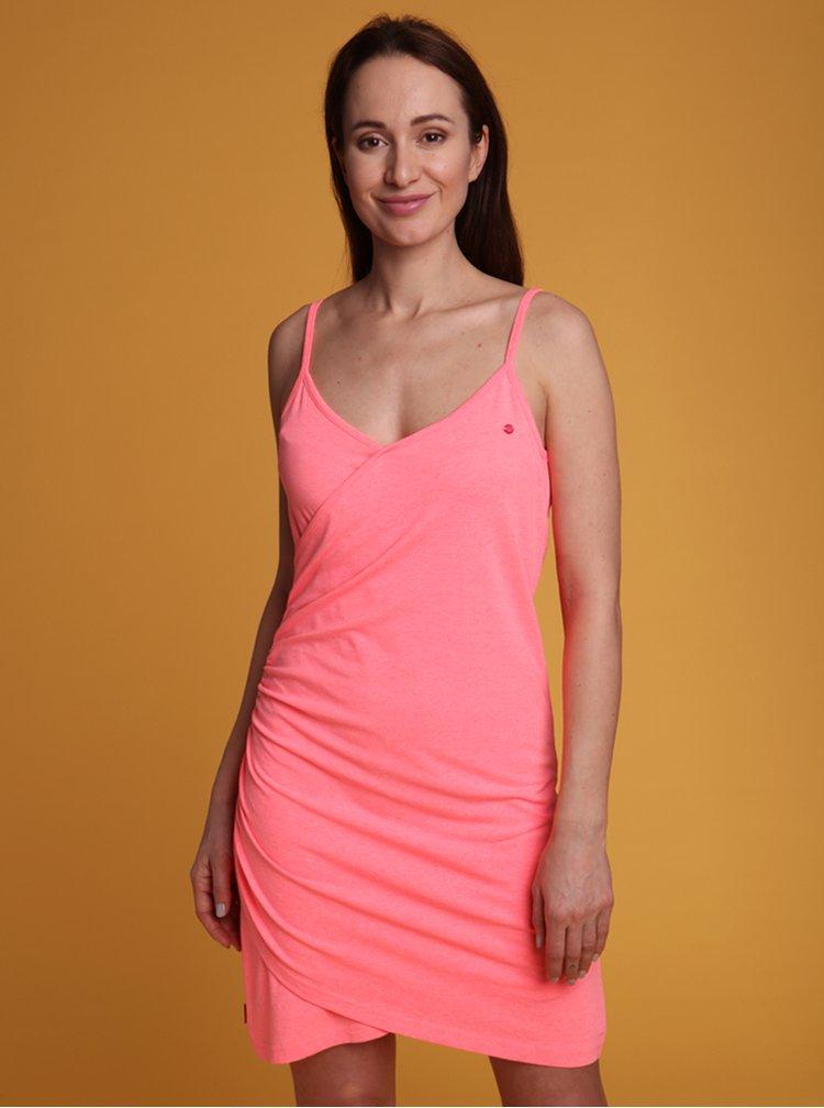 Růžové šaty LOAP Adrea