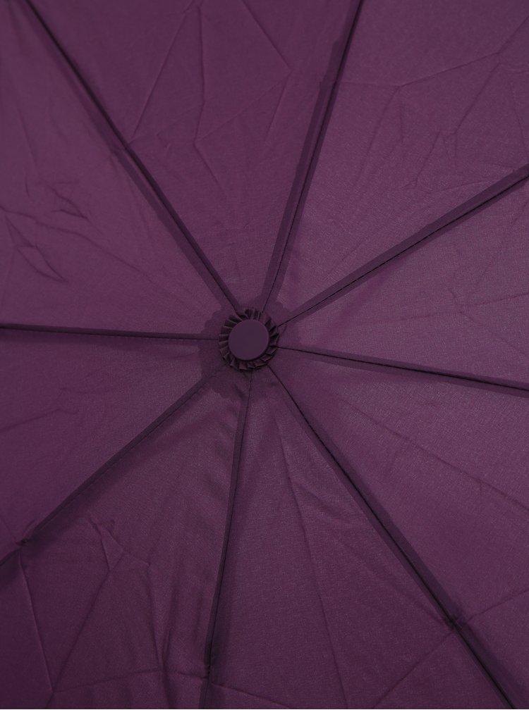 Fialový vystreľovací dáždnik Moon