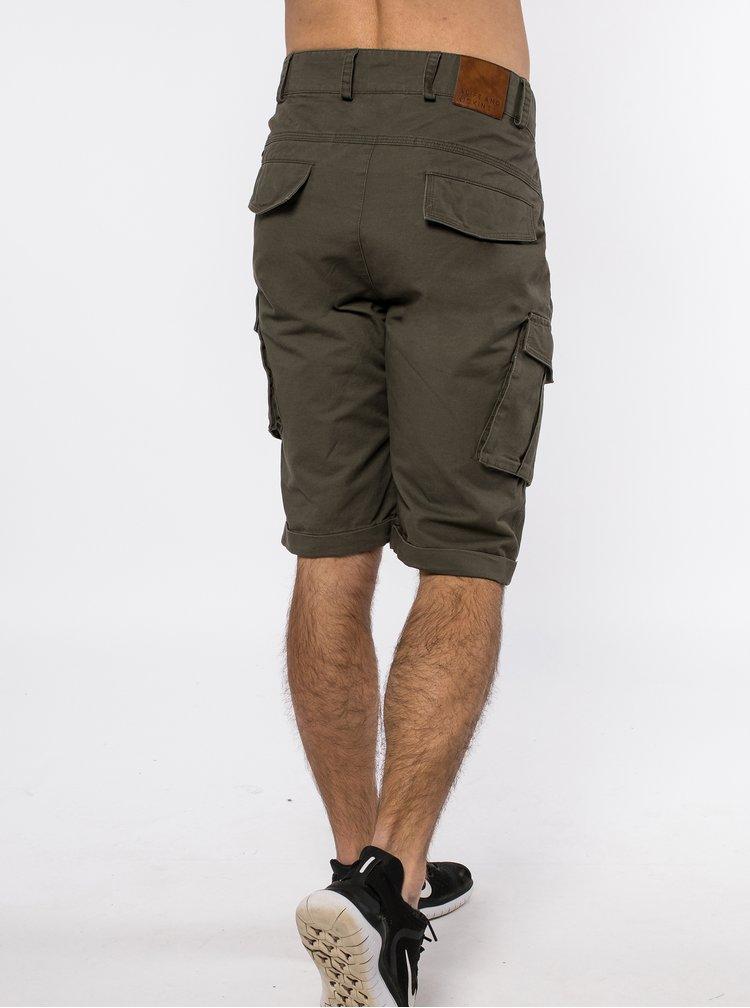 Pantaloni scurti pentru barbati Alife and Kickin - kaki