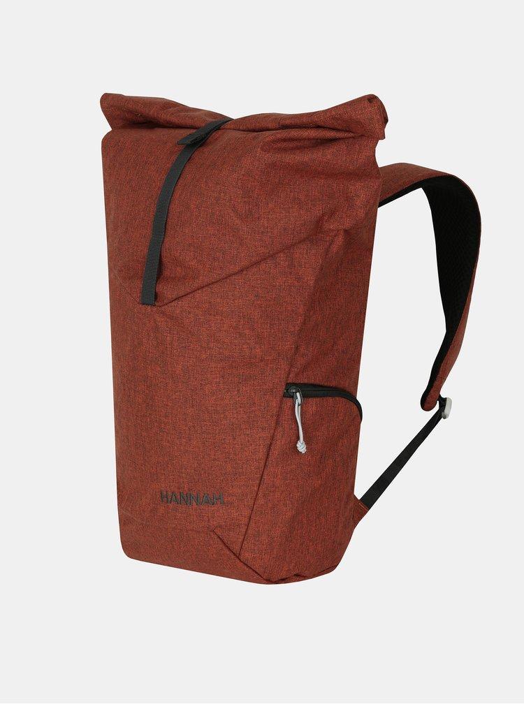 Hnědý batoh Hannah Scroll 25