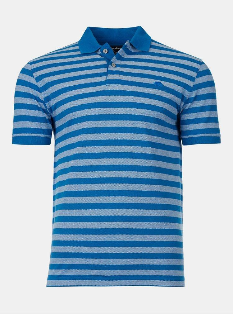 Tricouri polo pentru barbati Raging Bull - albastru