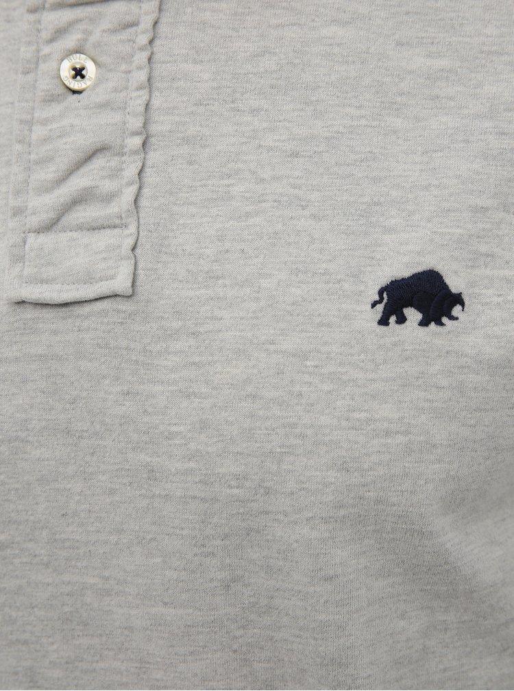 Tricouri polo pentru barbati Raging Bull - gri