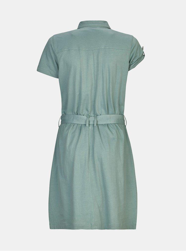 Modré košilové šaty killtec Kadara