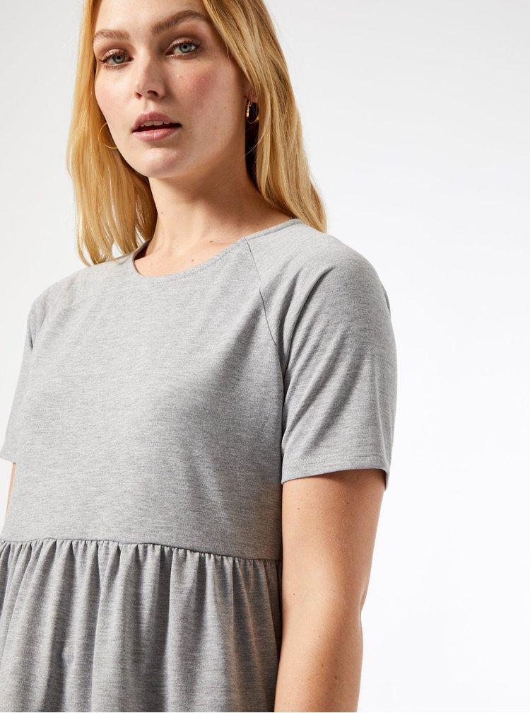 Šedé tričko Dorothy Perkins Tall