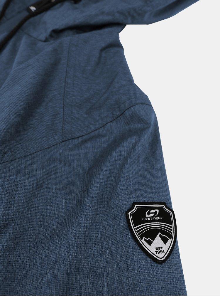 Modrá pánská voděodolná bunda Hannah Deplozo